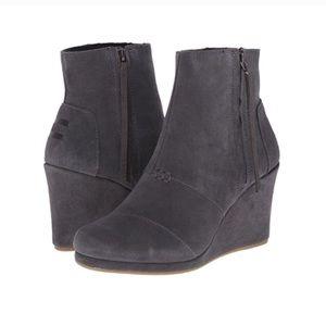 Toms Desert Wedge High Boots